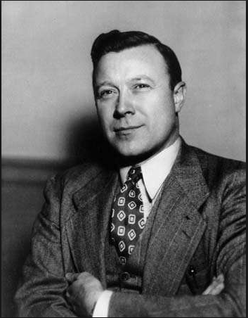 Walter Reuther posing for Time Magazine.