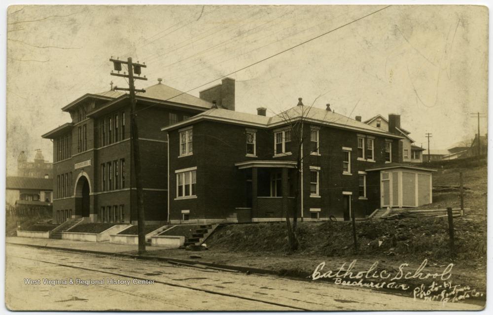 Ca 1920 of St. Francis Catholic Church Convent