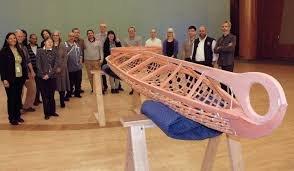 Native American Indian Kayak structure
