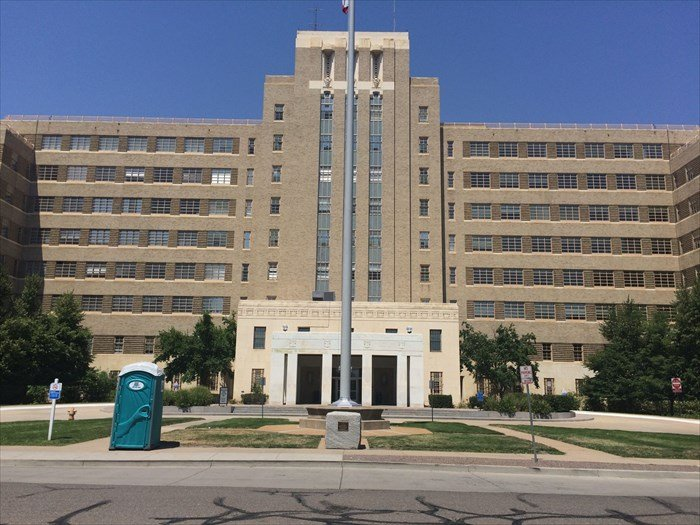 This is the Fitzsimons Army Medical Center.