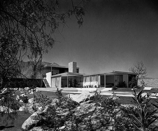 The Kaufmann House in the 1950s