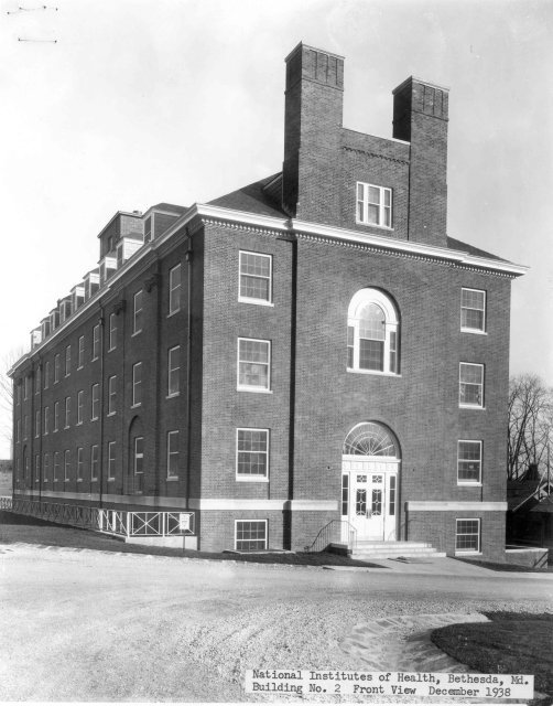 Building 2 shortly after completion on December 15th, 1938.