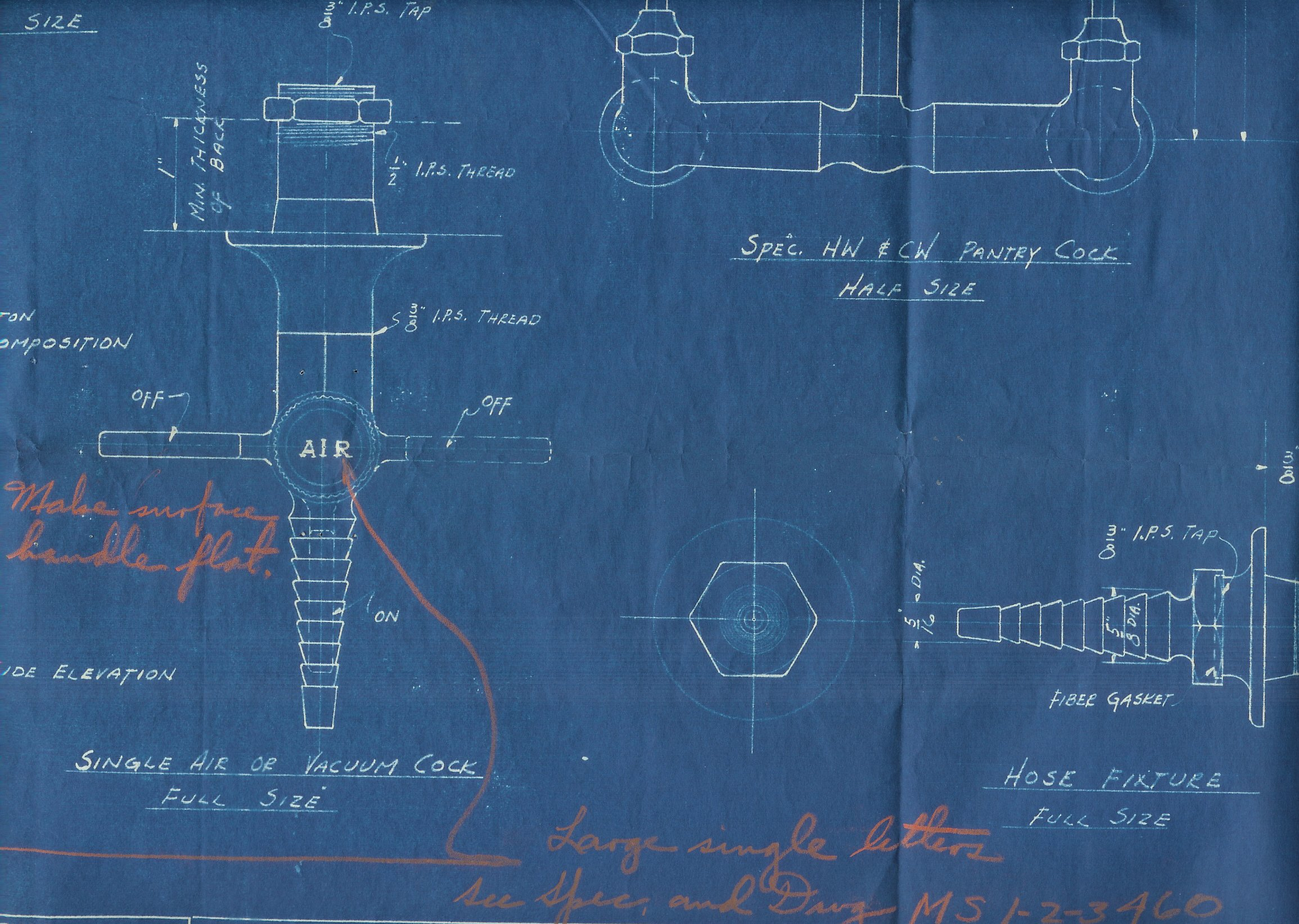 Kewaunee Manufacturing Co. valve designs had no trademarks on them, but due to an error in manufacturing, they were on the finished valves.  Discrepancies between design and product were not allowed, an error that cost KMC $111.80.
