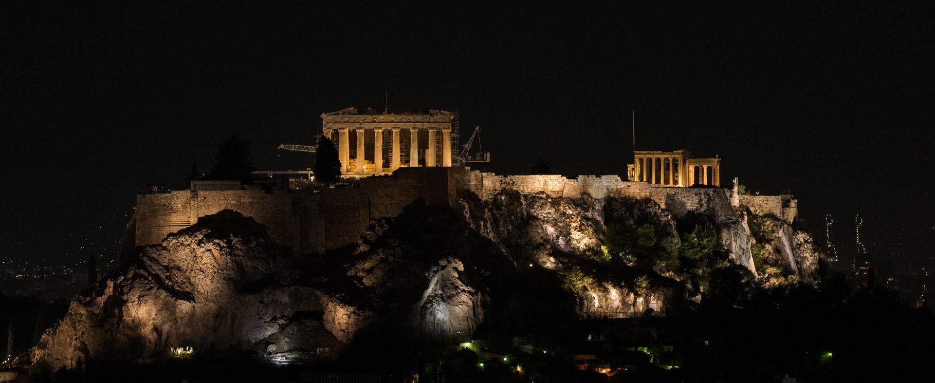 Acropolis at night (2017)