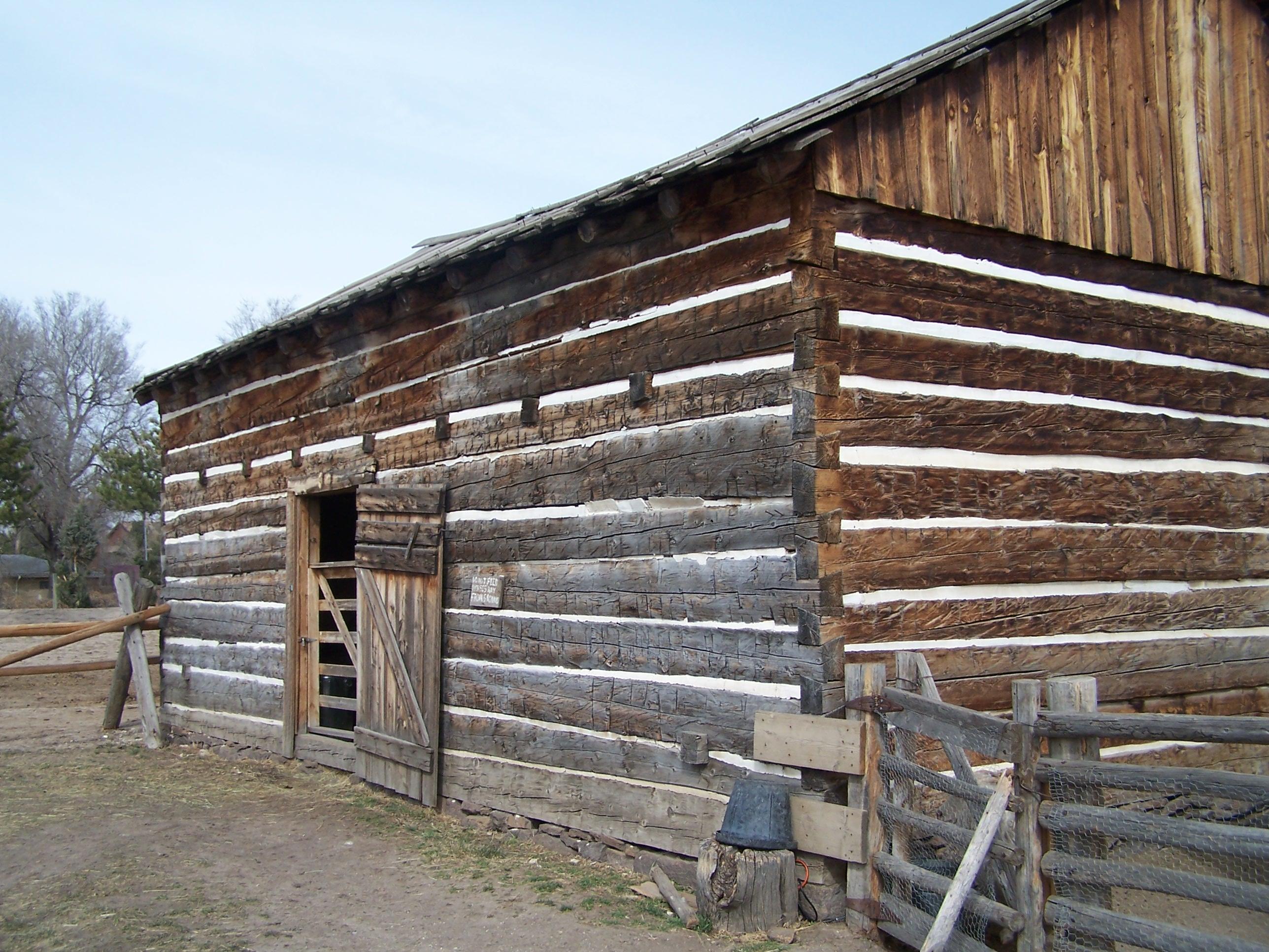 Four Mile's Log Barn