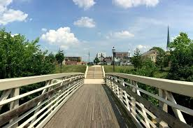 Pedestrian Bridge at Chambers Fort Park