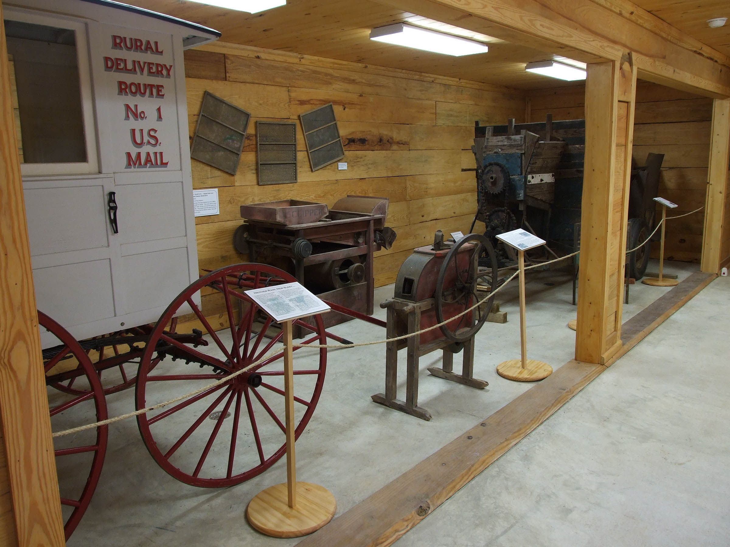 Farm Equipment Exhibit