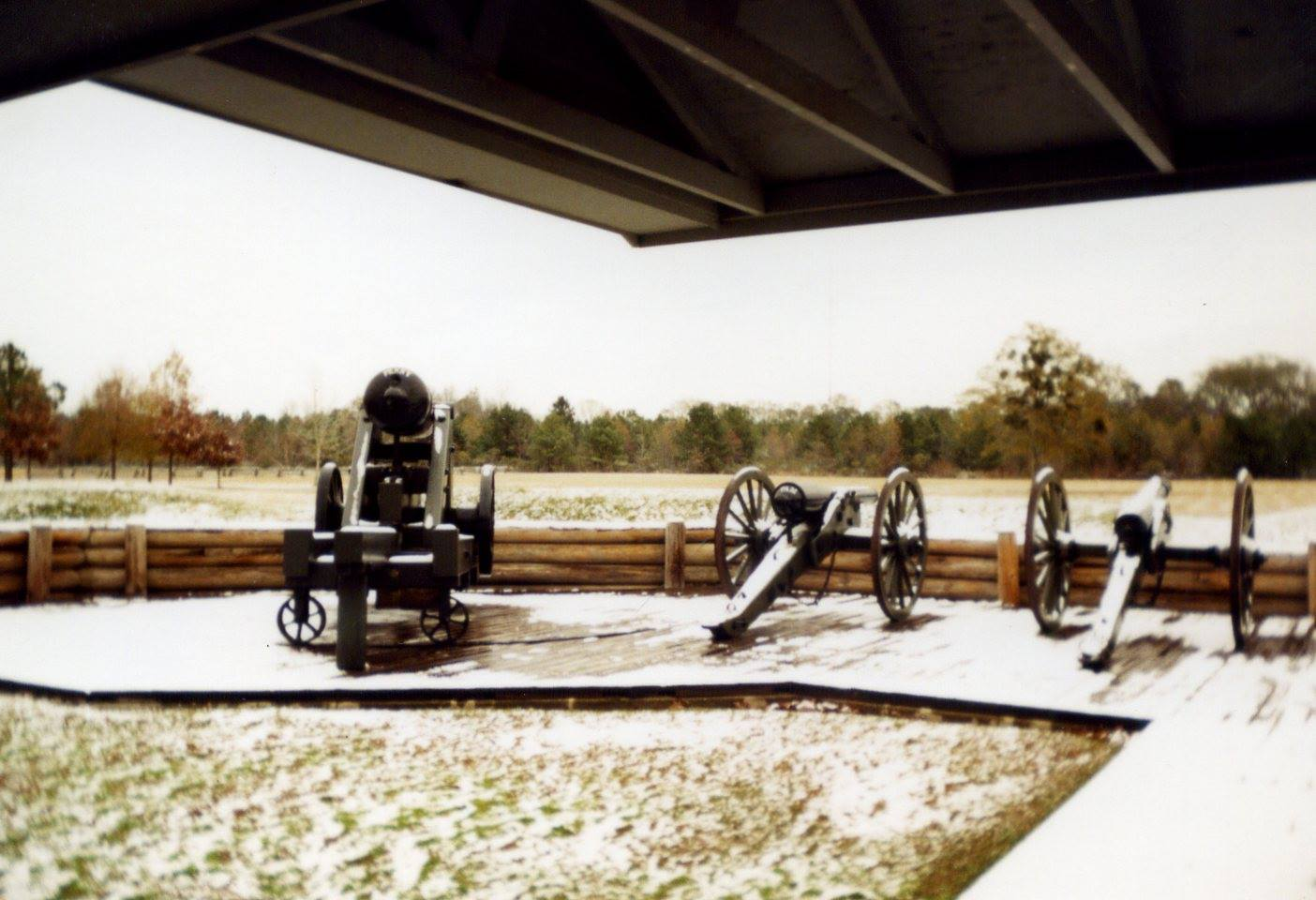 The 643 acre site encompasses a huge battlefield with recreated breastworks and trenches, as well as a museum