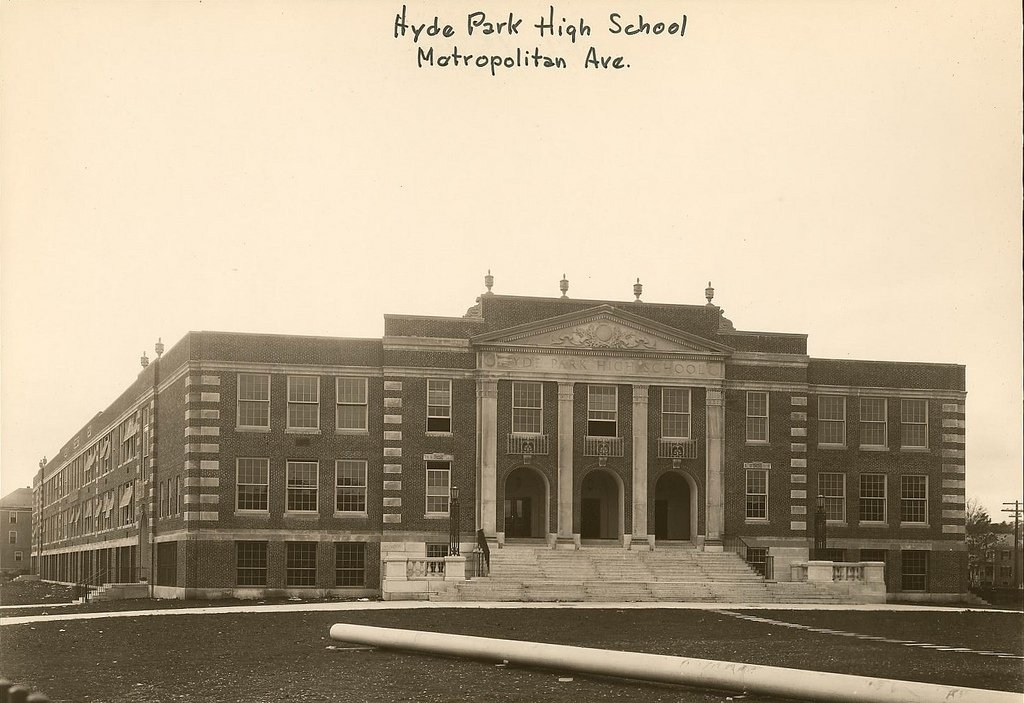 A photo of Hyde Park High School
