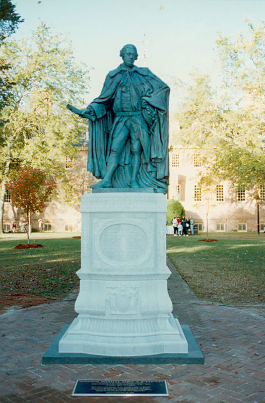 New Lord Botetourt Statue, 1993