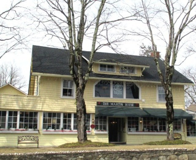 Main entrance of the Martin House from Main Street. Photo credit, Watauga County Tourism Development Authority.