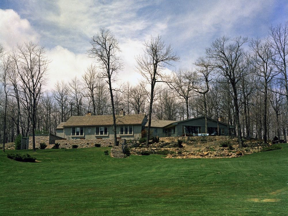 1961, Aspen Lodge at Camp David