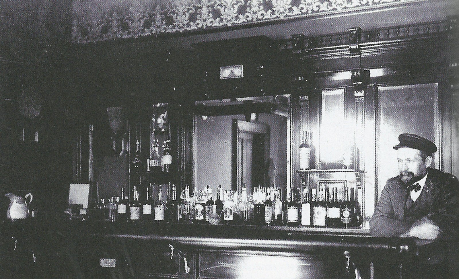 This is one of the few pictures that provided a glimpse of what Chauncey's Pub used to be.