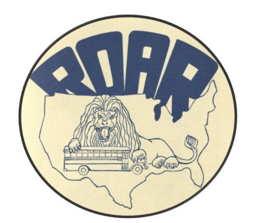 The logo for ROAR.