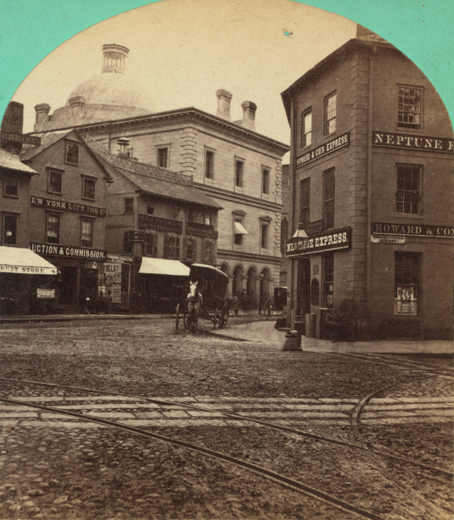1868 Photo of the U.S. Customshouse