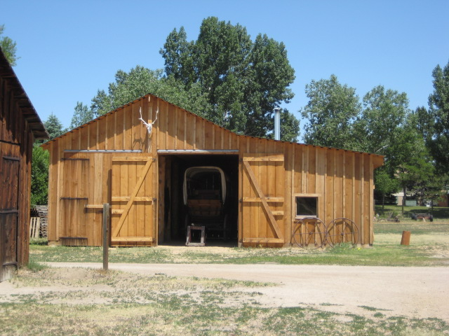 The Stagecoach and Schooner Barn