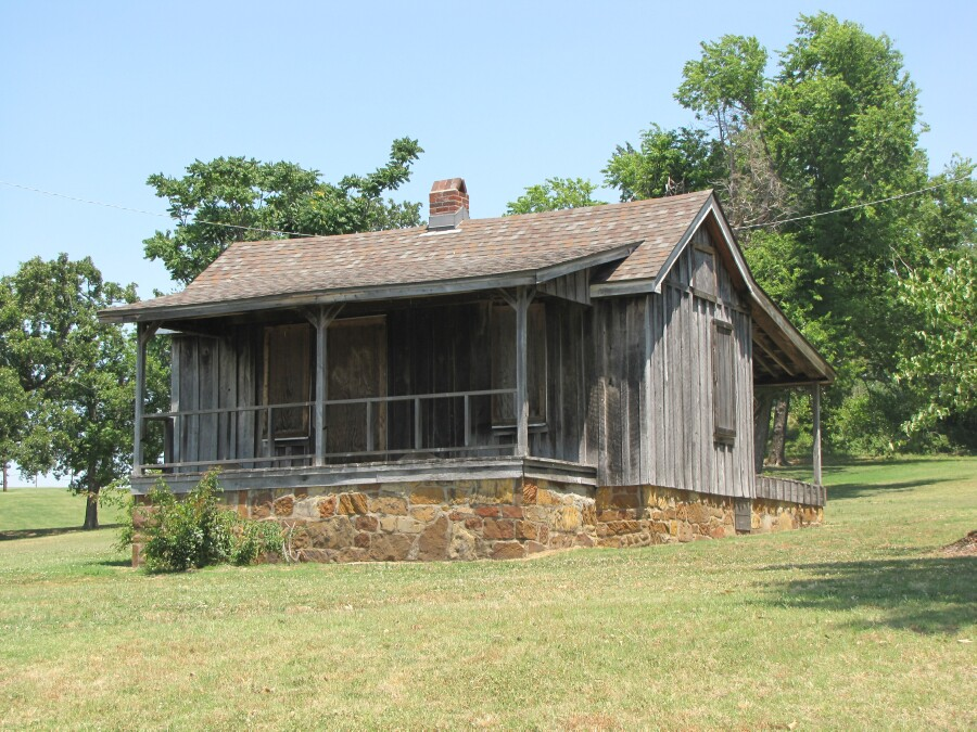 The oldest house in Tulsa was built in the mid-1880s and is located in Owen Park, which was created in 1910 as the city's first park.