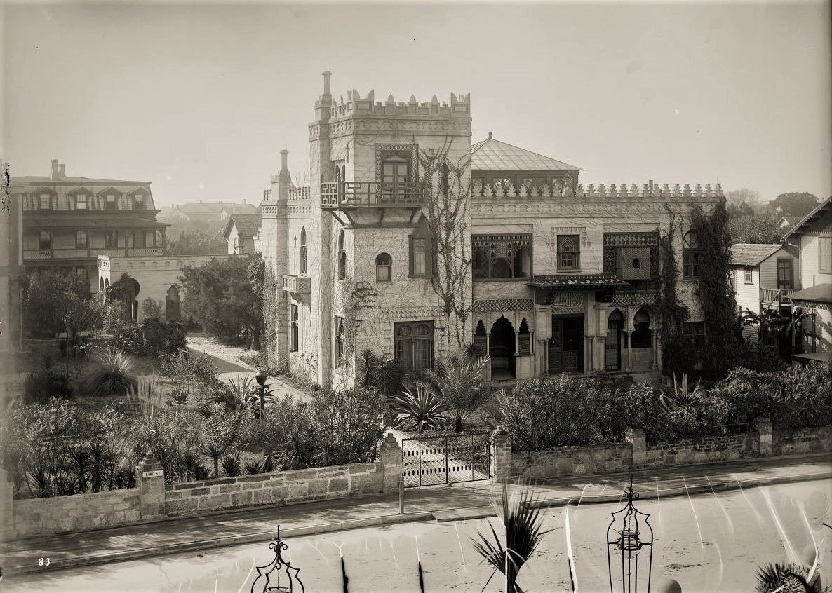 Villa Zorayda, c. 1885 (then known as Zorayda Castle). Credit: Library of Congress, LC-DIG-DET-4A03490