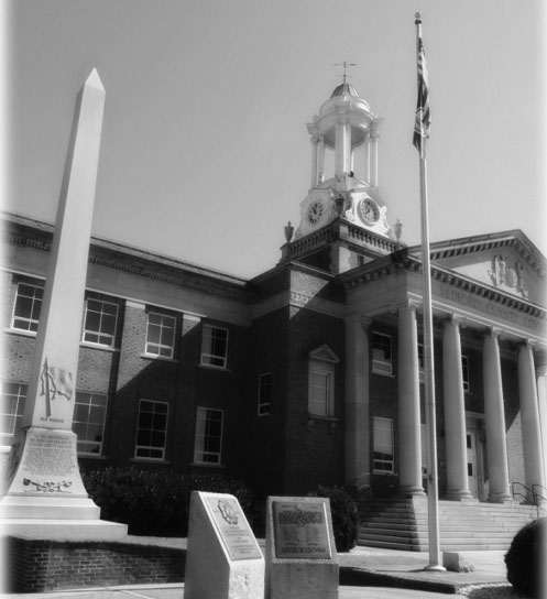 Bedford Boys Monument at the Bedford County Courthouse