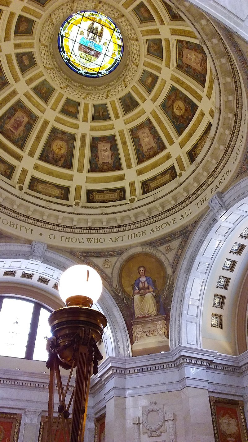 The dome is 53 feet in diameter.