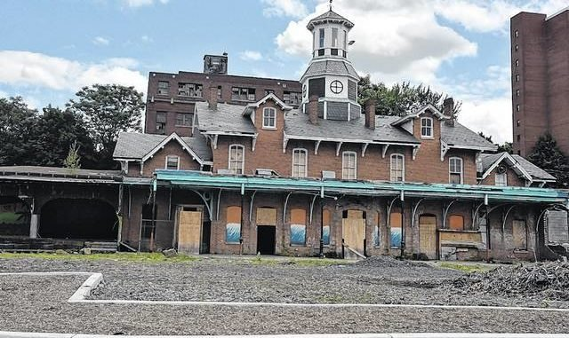 The Wilkes-Barre Station was built in 1868 and operated until 1972. It is currently undergoing renovation.