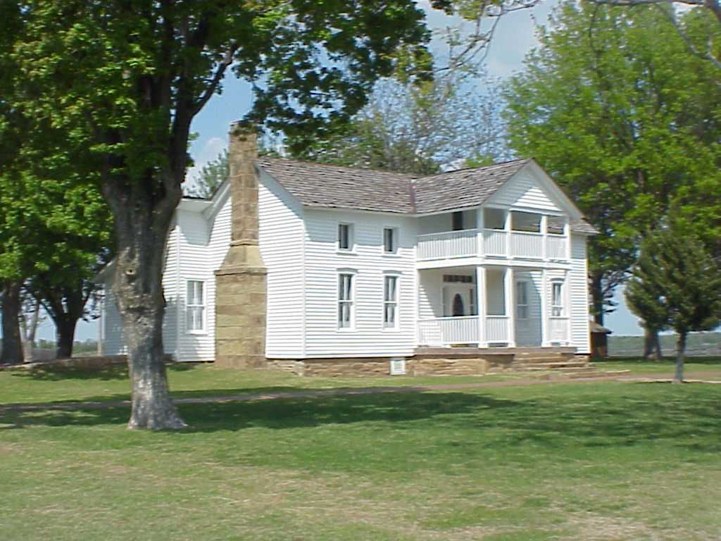The Will Rogers Memorial Birthplace Ranch was first built in 1875 and expanded over time. It is listed on the National Register of Historic Places.