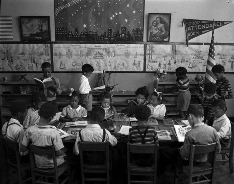 When Benjamin Banneker School first opened its doors in 1915 it only had 93 students and 3 teachers. Up until an 1869 mandate requiring education possibilities for colored students, African-American children were often left out of the system.