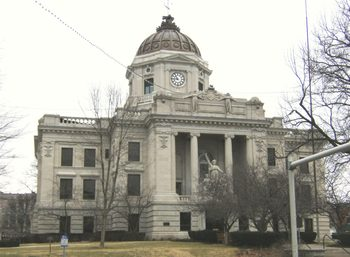 The current Monroe County Courthouse building is its third incarnation and nearly face demolition in the mid-1970s to early 1980s. It is thanks to the determination of local citizens to keep their history alive that the building still stands.