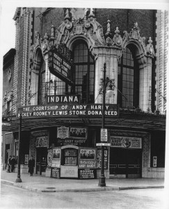 The Indiana Theater in 1942