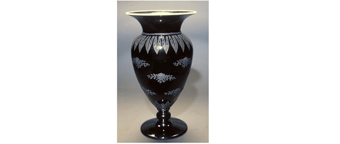 Vase, H.P. Sinclaire and Co., Steuben Glass Works, Corning, New York, United States, about 1919-1933.