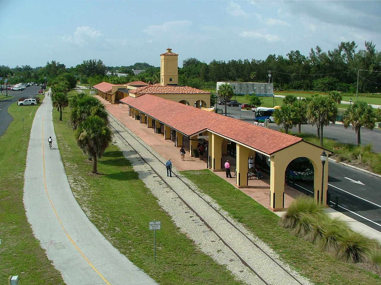 The Venice Depot was built in 1928 and remains an enduring symbol for the role the railroad played in the city's history.