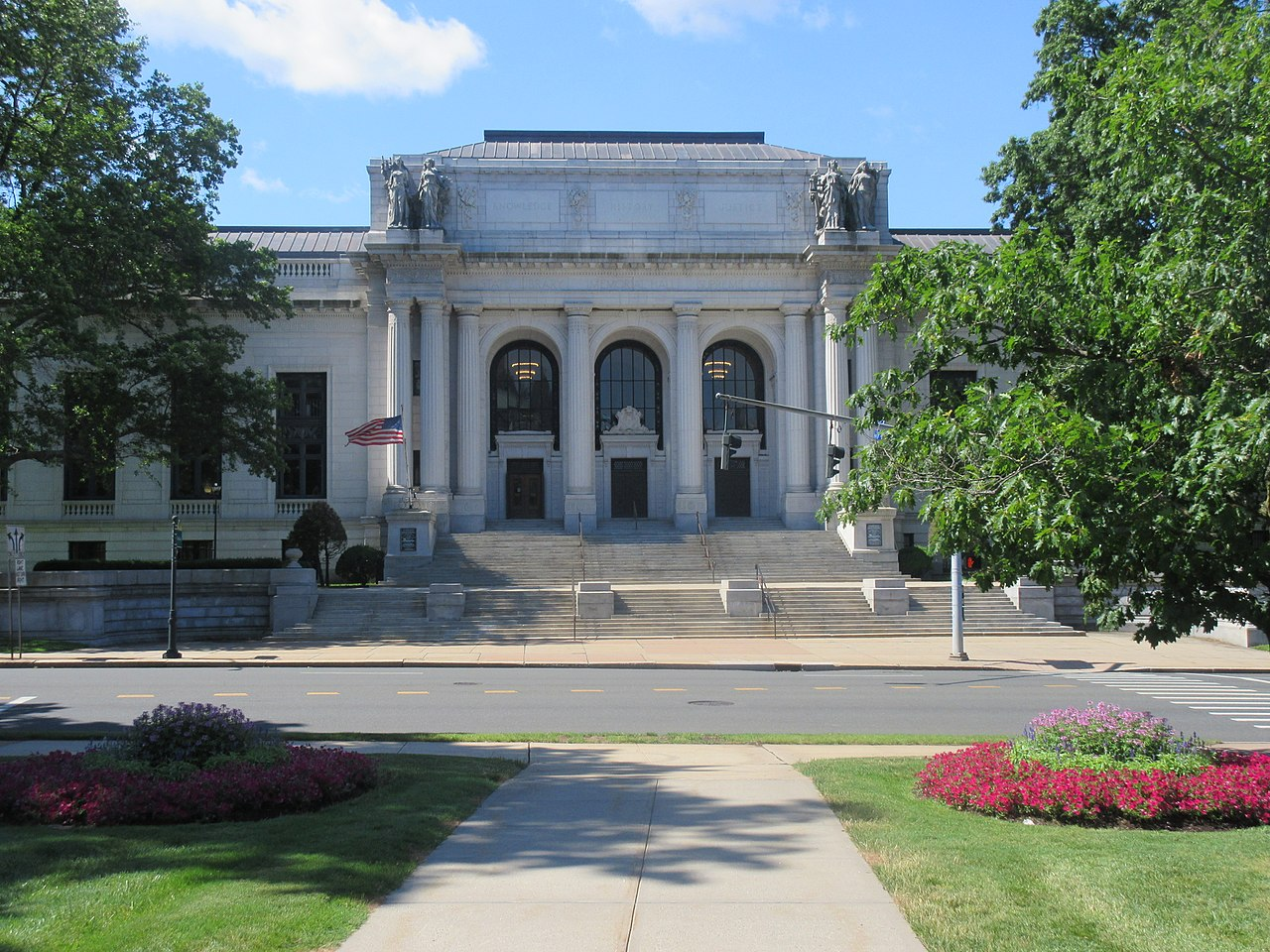 The Connecticut Library in June of 2017, Photo by The State Library