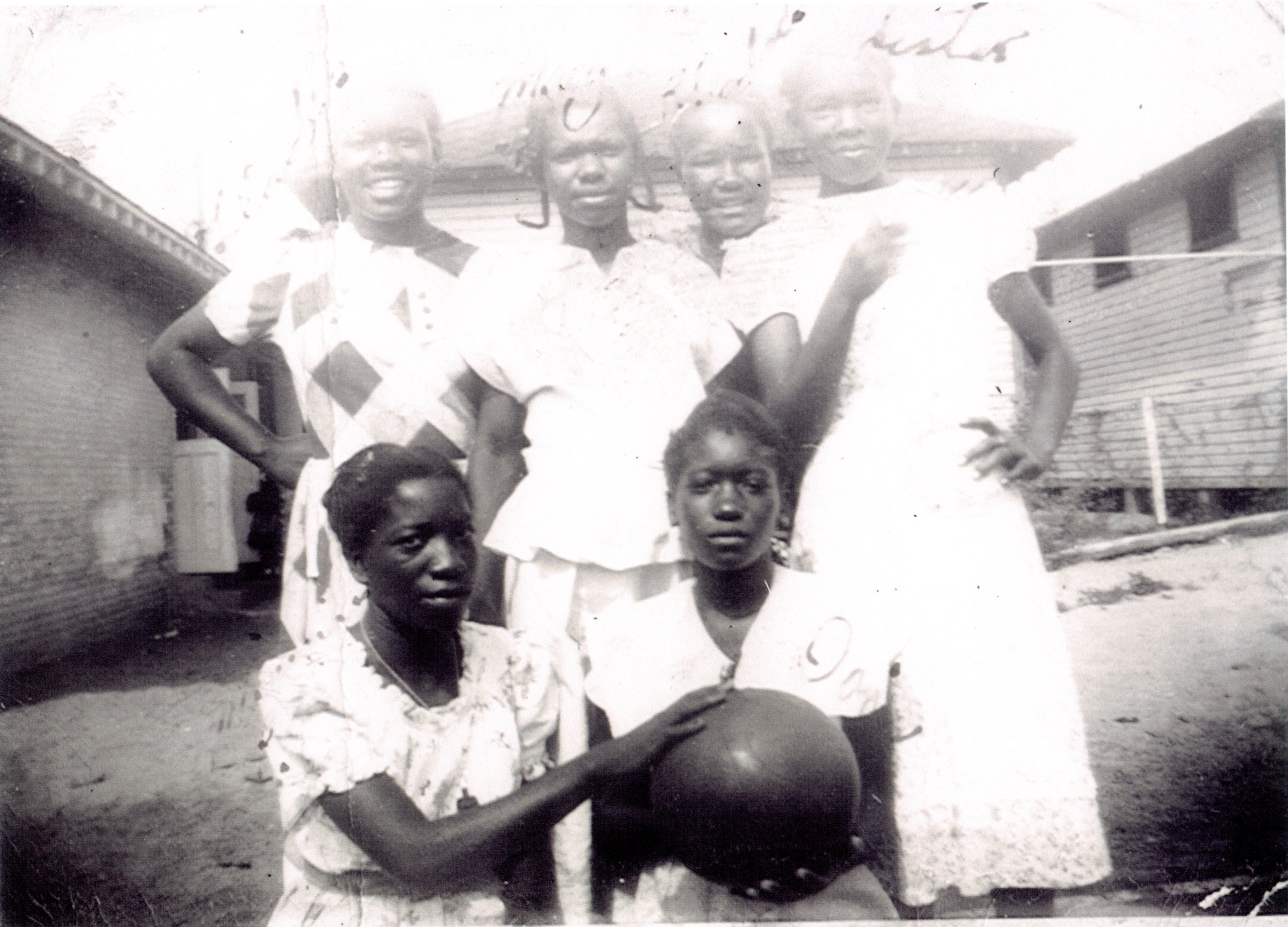 Union Academy girls Basketball Team, Tarpon Springs, Florida, circa 1947.