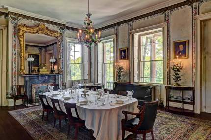 The Dining Room in Montgomery Place