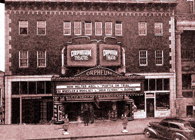 The Orpheum in 1937