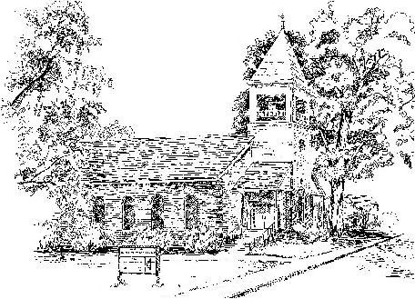 Sketch of Madison United Methodist Church