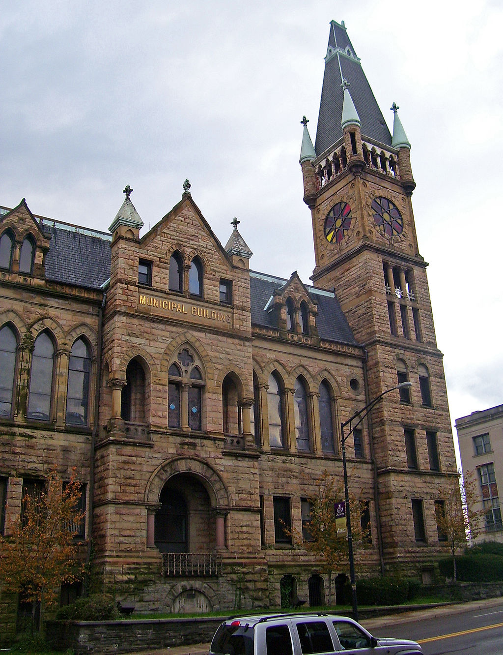 Scranton City Hall is one of the city's iconic landmarks.
