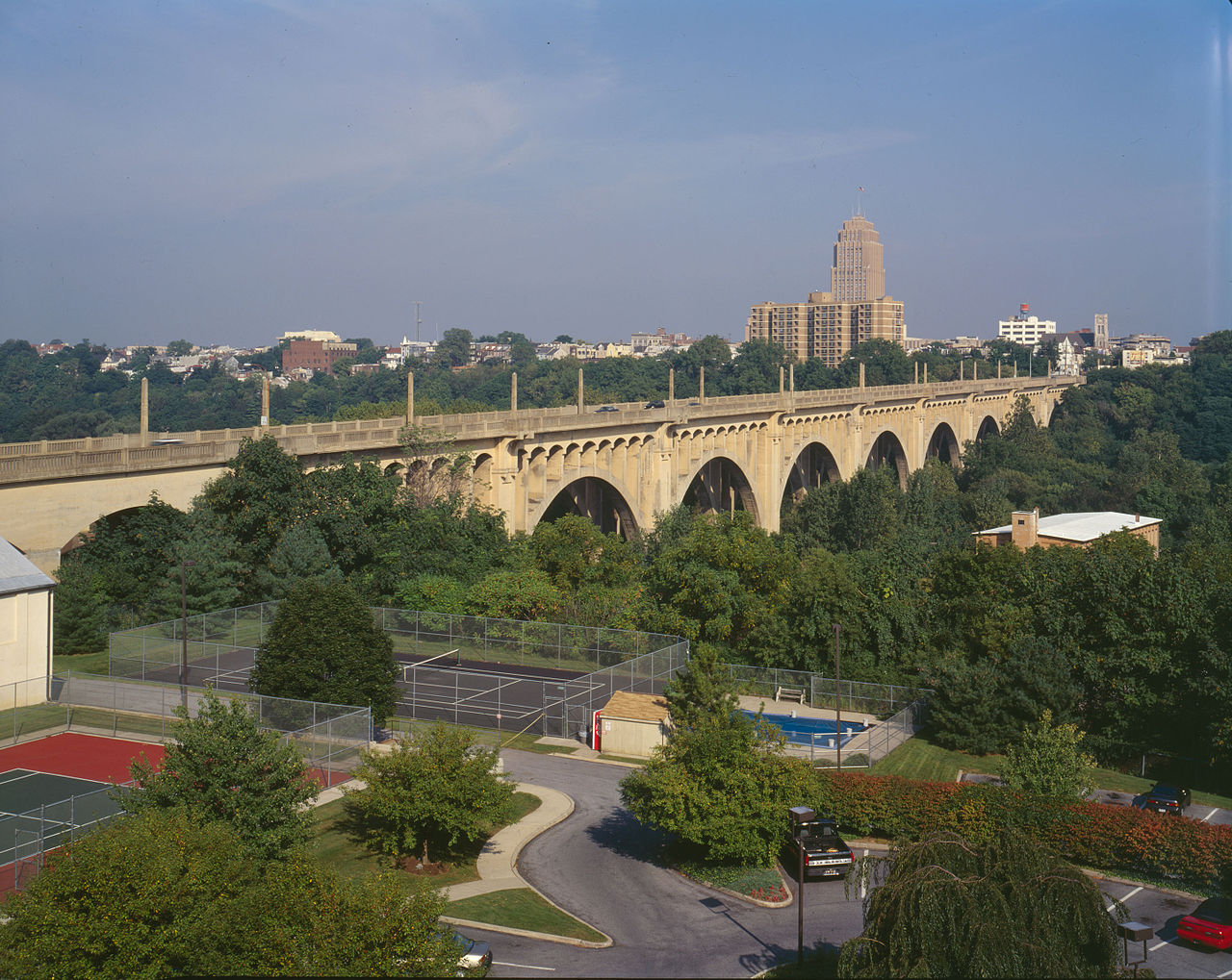 Built in 1913, the Albertus Meyers Bridge is still an impressive engineering feat today.