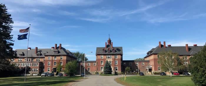 Image of the Dorothea Dix Psychiatric Center.