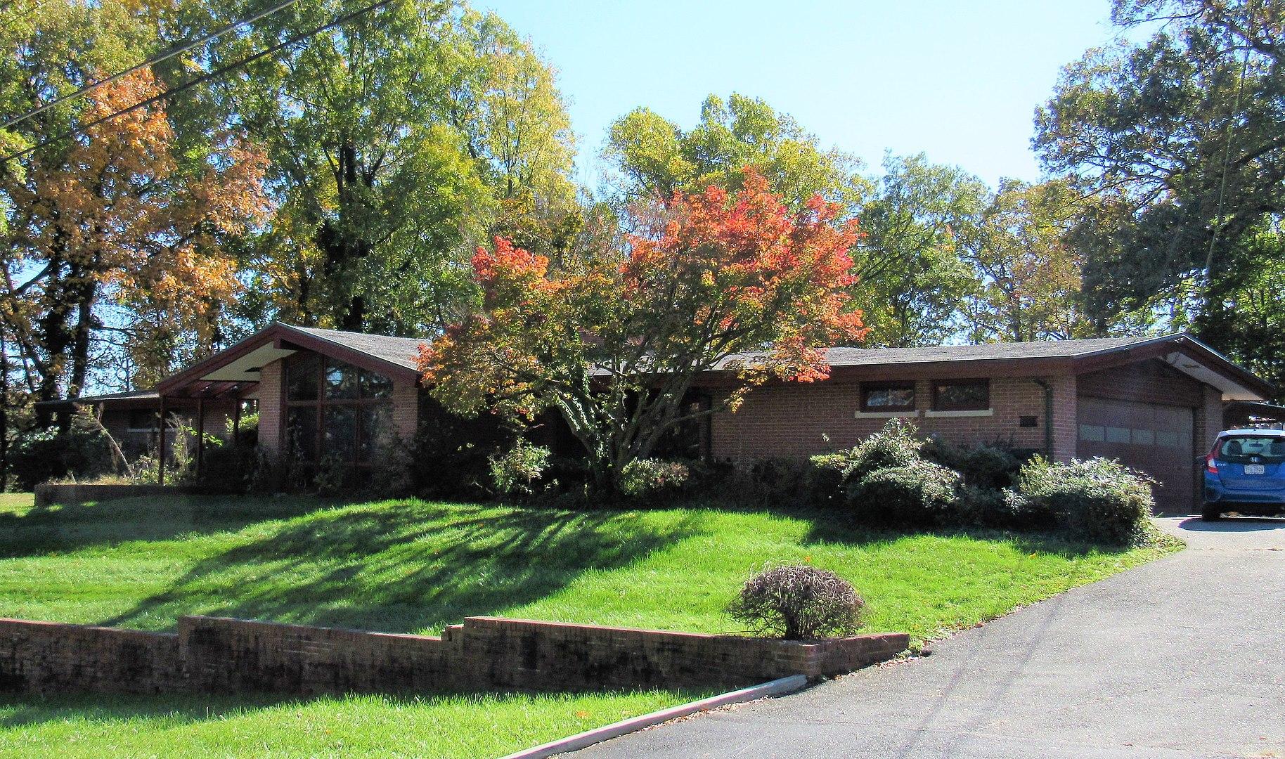 Marenka House, College Park, MD.  (Built in 1958.)