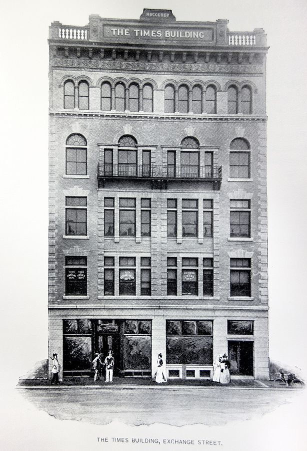 1897 Photo of the Times Building