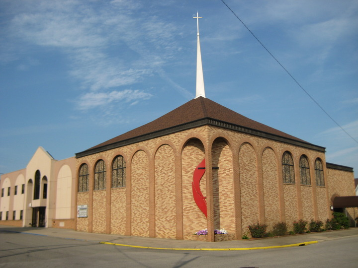 The current sanctuary building was constructed in 1980 to accommodate the growing congregation.