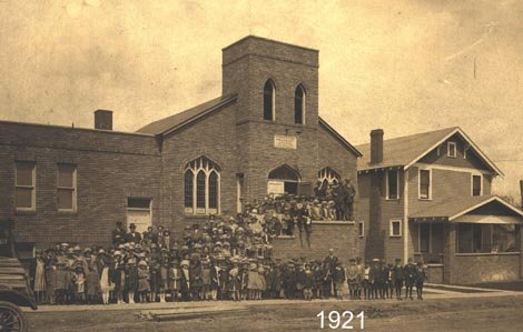 The 1921 sanctuary that was used for over 80 years.