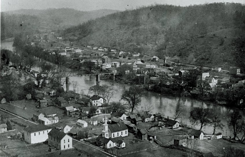 Photo of Clendenin from the early 20th century. 2.