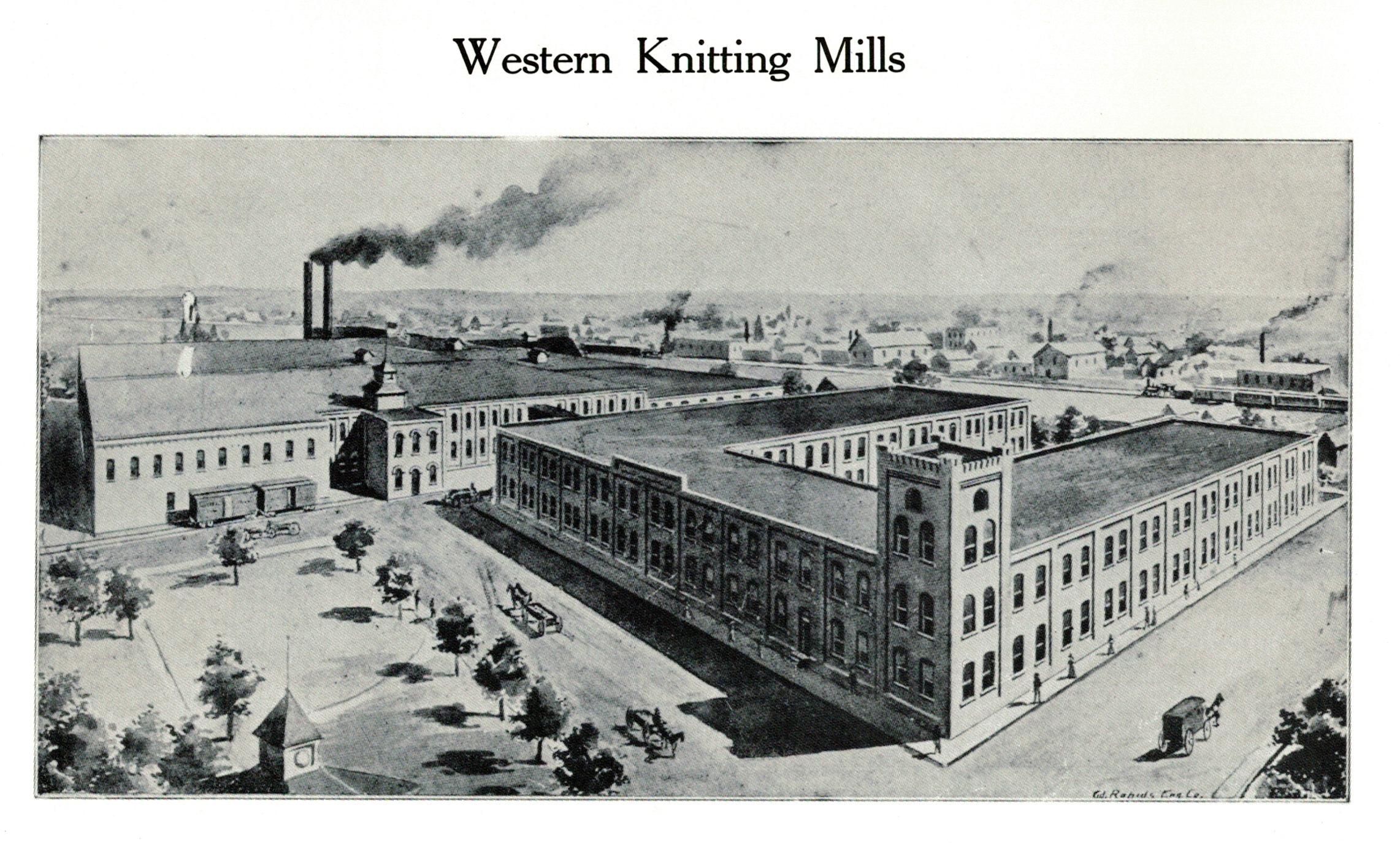 Western Knitting Mills, ca. 1897