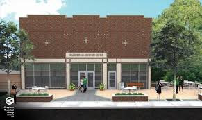 Future Home of Coal Heritage Discovery Center concept design.