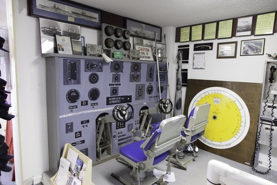 Mock-up of a control room of a submarine. Credit: Rob B., TripAdvisor