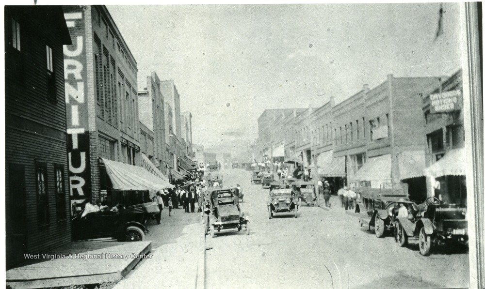 Main St Mount Hope, early 1920s-1930s.