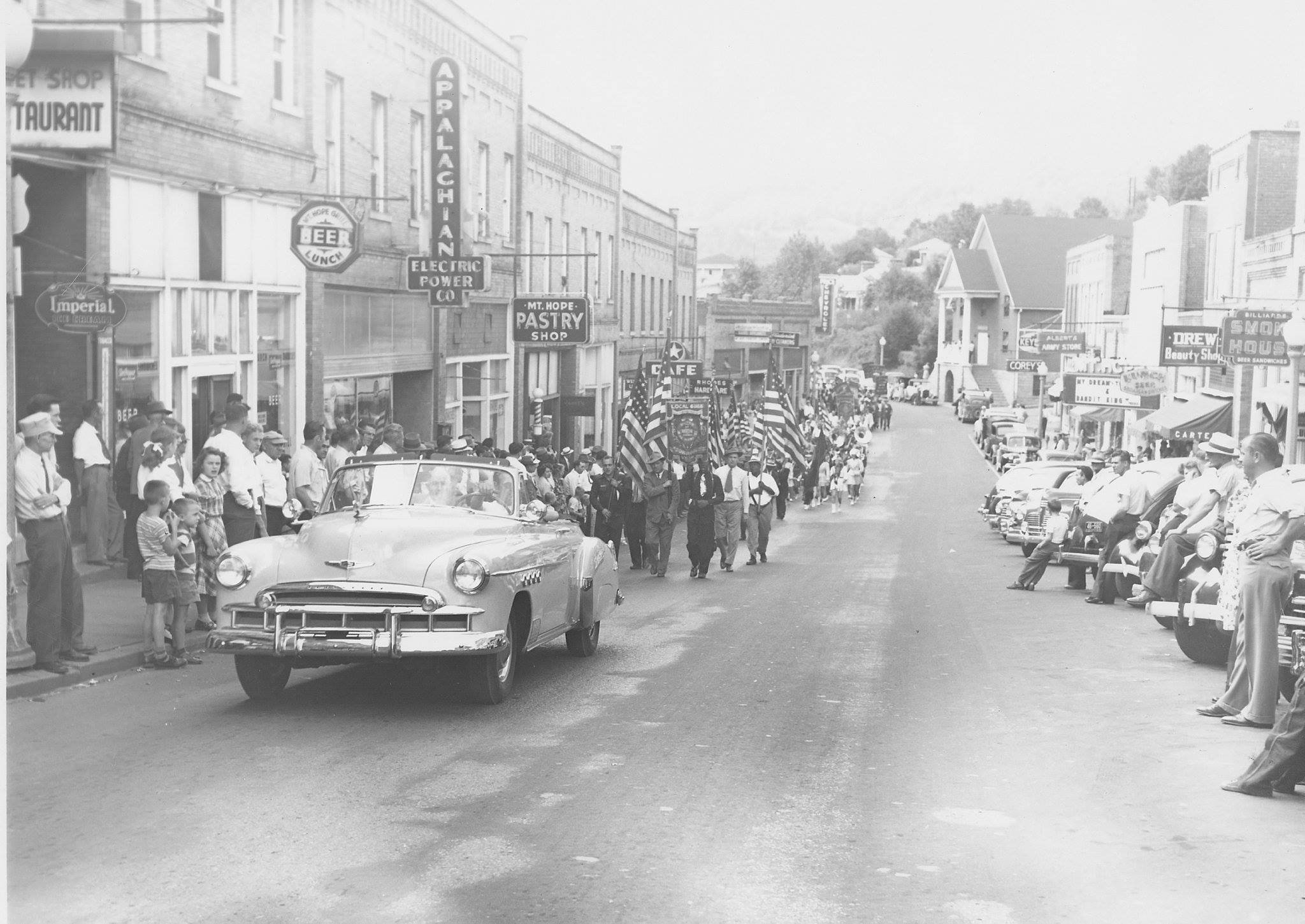 Labor Day Parade and U.M.W.A. Rally, 1949.
