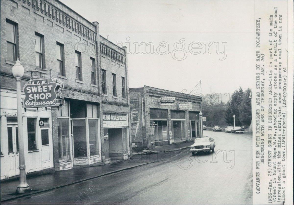 Sweet shop, 1961.